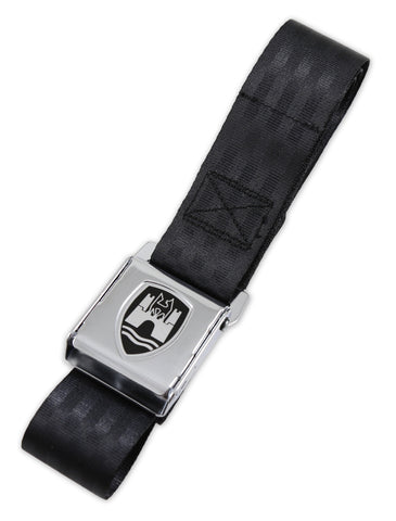 Black w/ Chrome Buckle - 2 Point