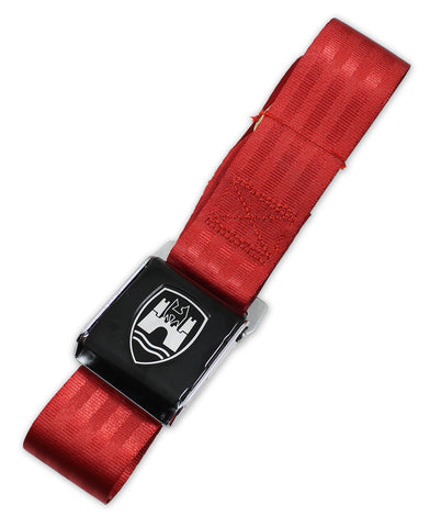 Red w/ Black Buckle - 2 Point