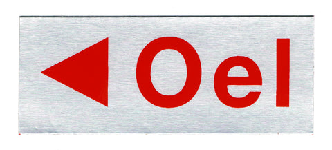 OEL Sticker