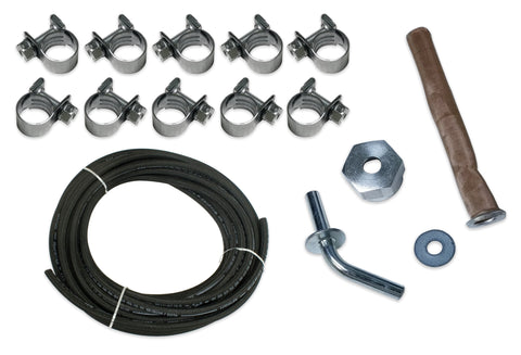 Fuel Line, Clamp, & Outlet Kit
