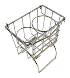 Utility Tunnel Basket - Chrome