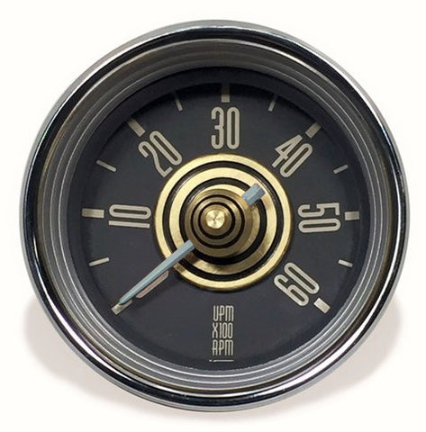 Accessory Tachometer - Gold/White Needle