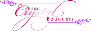 This is an image of Bridal Crystal Bouquets Logo for Bespoke bouquets, brooch bouquets and vintage bouquets UK