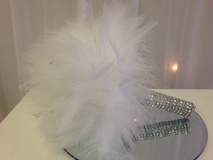 Fun Feather Wedding Bouquet For Your Quirky Bridesmaids - Bridal Crystal Bouquets