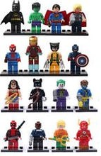 Load image into Gallery viewer, Minifigure Marvel buttonhole for a grooms wedding