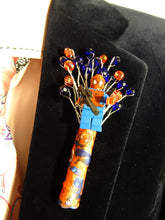 Load image into Gallery viewer, Marvel Buttonholes For An Alternative Comic Wedding Day - Bridal Crystal Bouquets