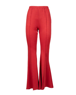 Flare tight trousers