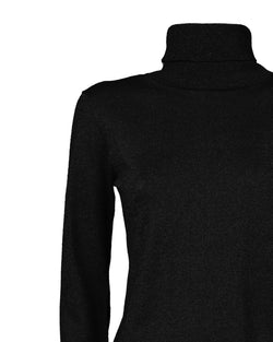 Monochrome turtleneck sweater