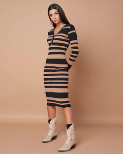 Knitted pencil dress