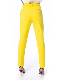 Solid color trousers FEKKA
