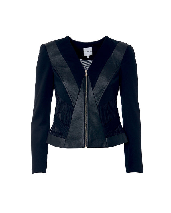 Leatherette jacket BIYA