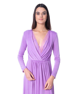 Dress deep collar FILFILA