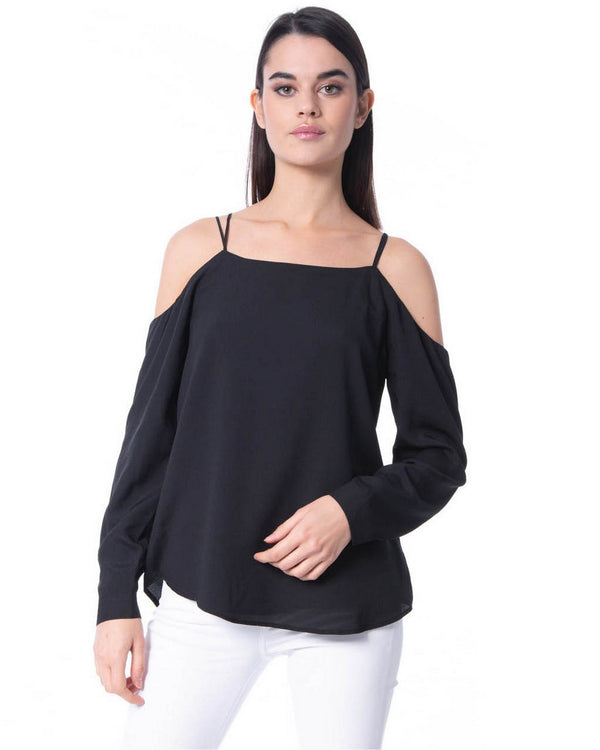 Blouse nude shoulders BOUCAID