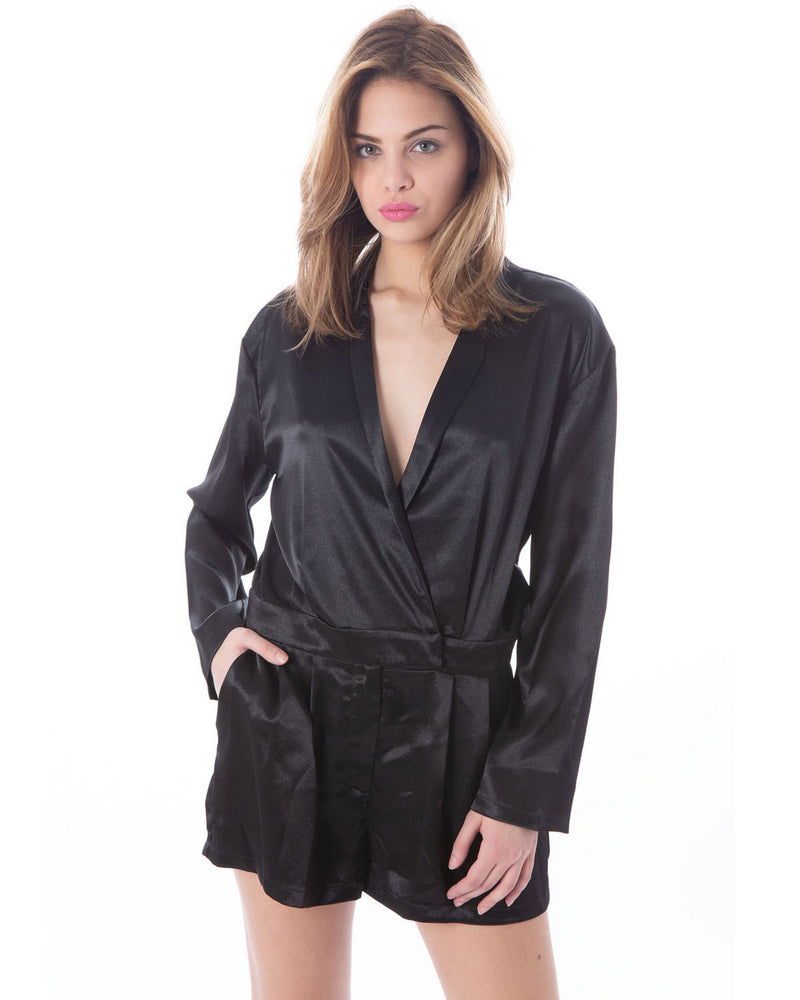 Dress-suit in satin FREDI