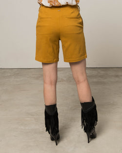 Shorts with structured texture