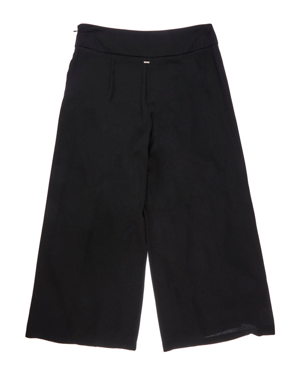 Monochrome culotte trousers