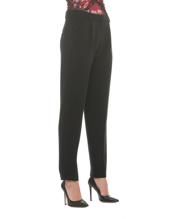 Classic trousers with side pockets