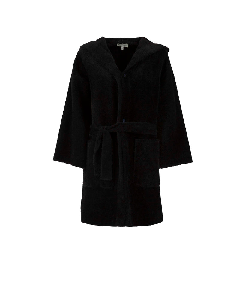 Coat with flare sleeves