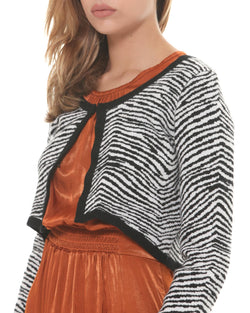 Zebra short jacket