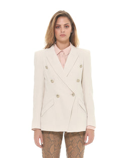 Double crossover blazer