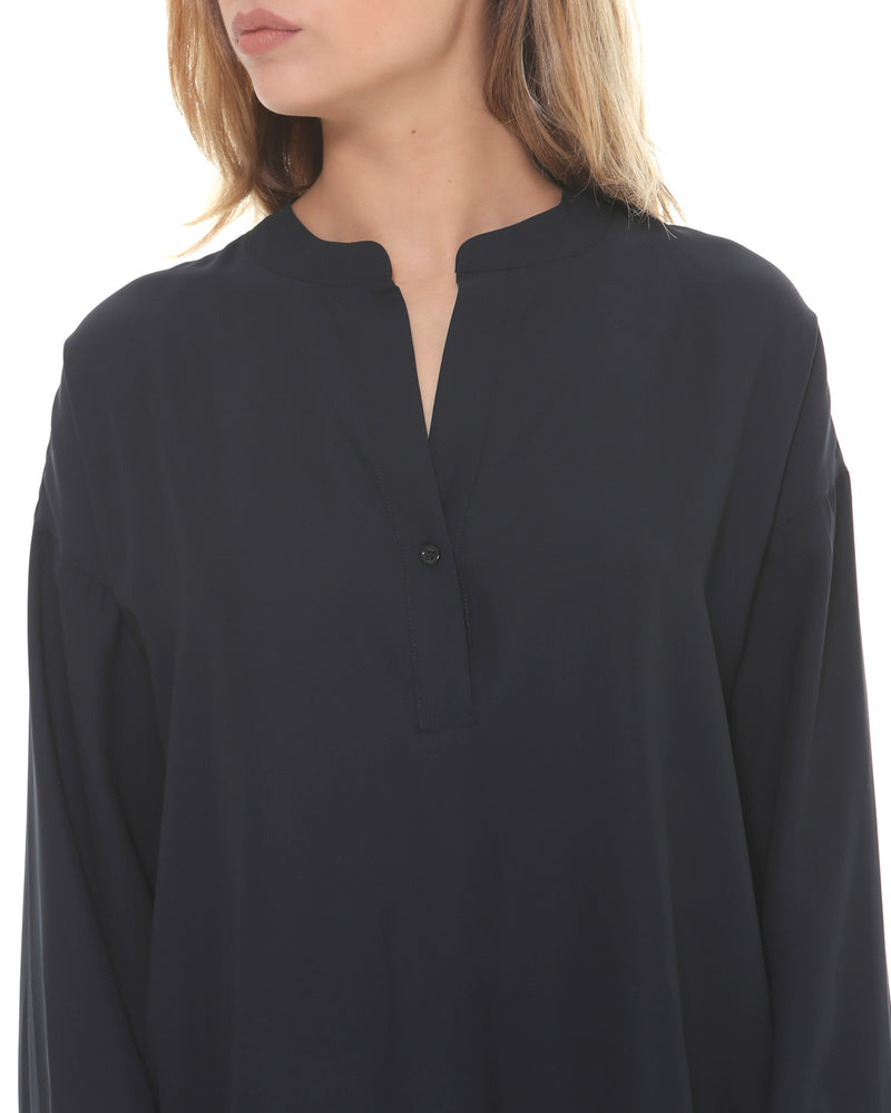 Monochrome V neck blouse