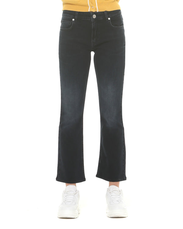crop Flare jeans