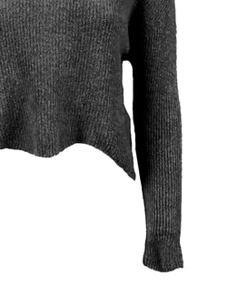 Ribbed Crop Sweater