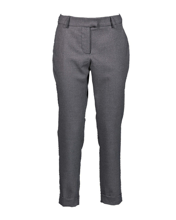 Straight classic trousers