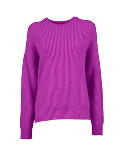 Oversize sweater wide collar