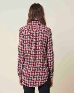 Soft houndstooth shirt