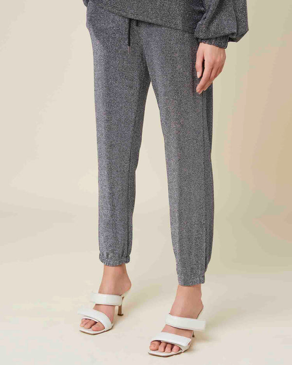 Jogger trousers with coulisse