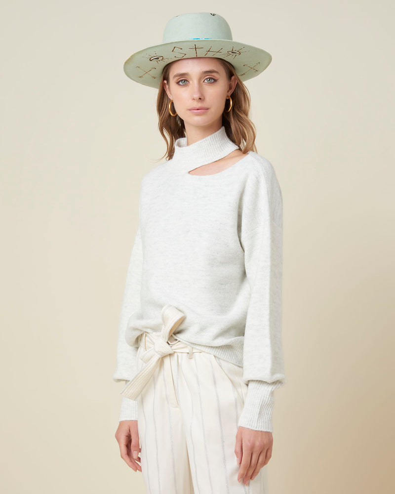 Regular roundneck sweater