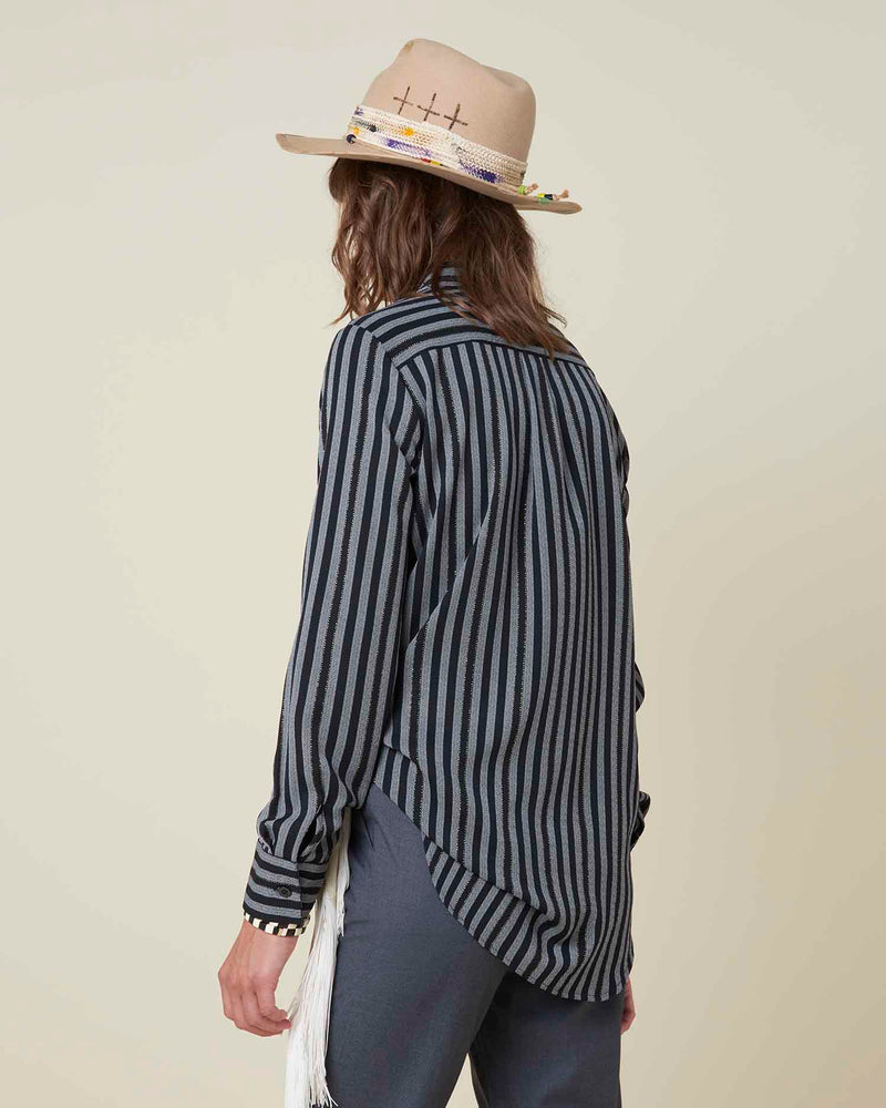 Pinstriped shirt