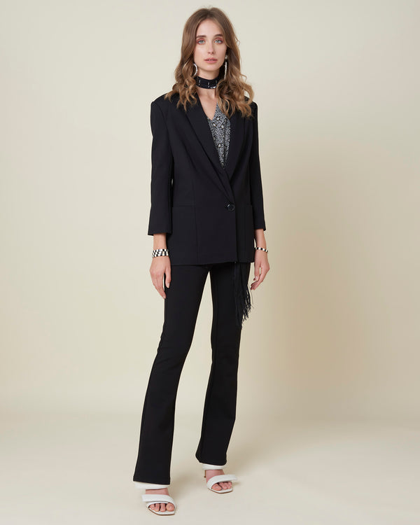 One-button blazer