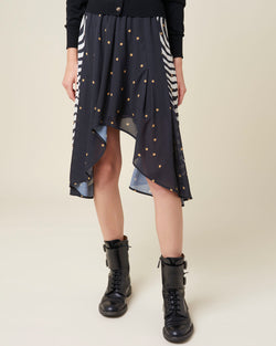 Skirt with astral pattern