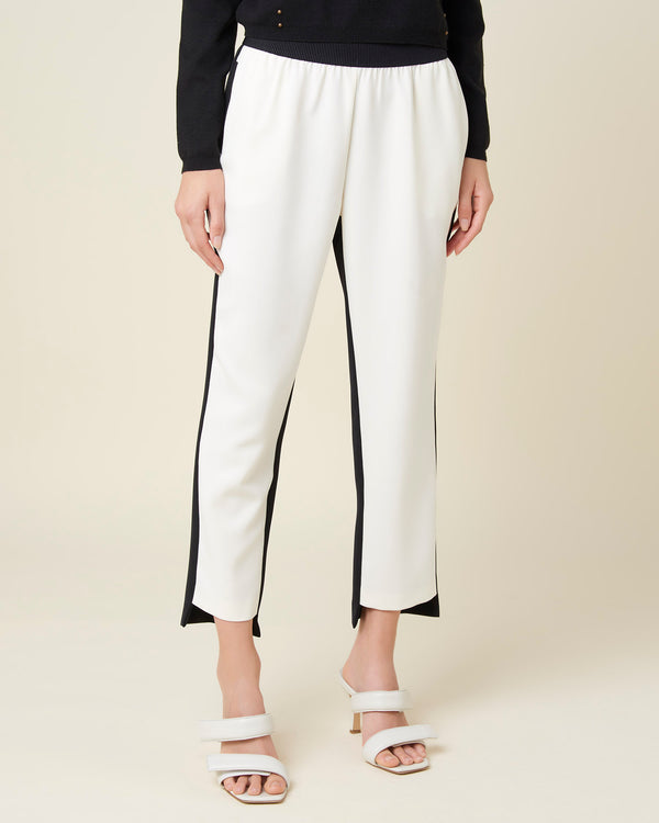 Soft high waisted trousers