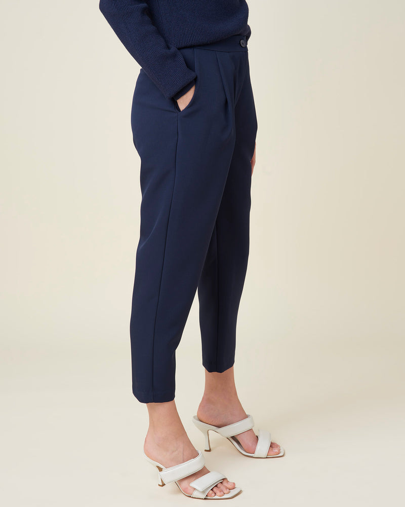 Cropped penced trousers