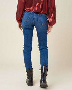 Super skinny high waisted jeans