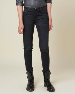 Medium waist regular jeans