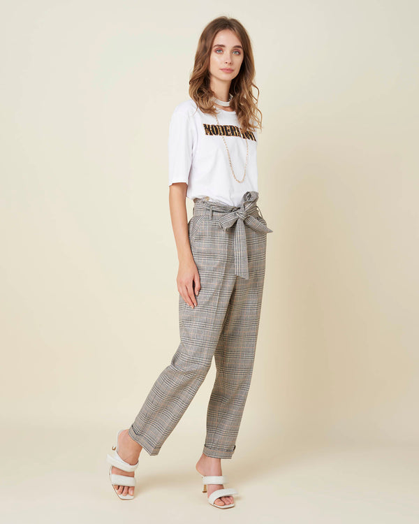 Baggy classic trousers