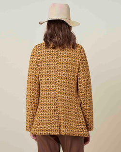 Embroidered pattern jacket