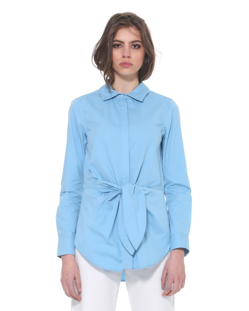 Shirt with knot on waist ARABOS