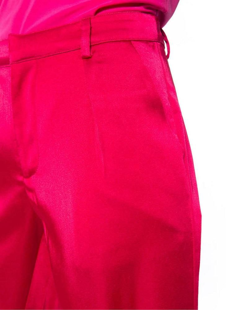 Trousers satin effect TOYONAKA