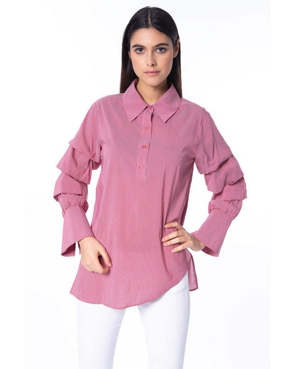 Blouse optical pattern YALLA