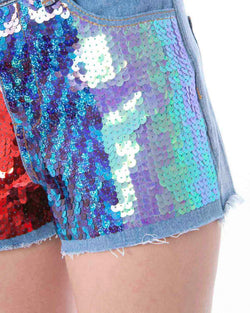 Sequins shorts MIGUELI