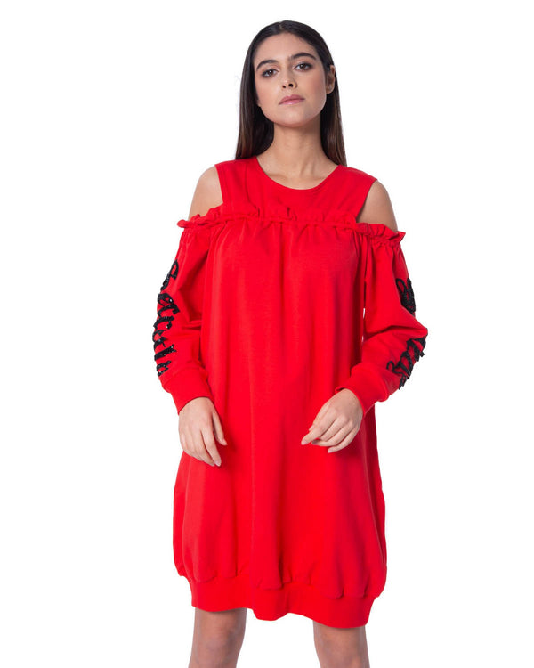 Sweatshirt dress ABREUS