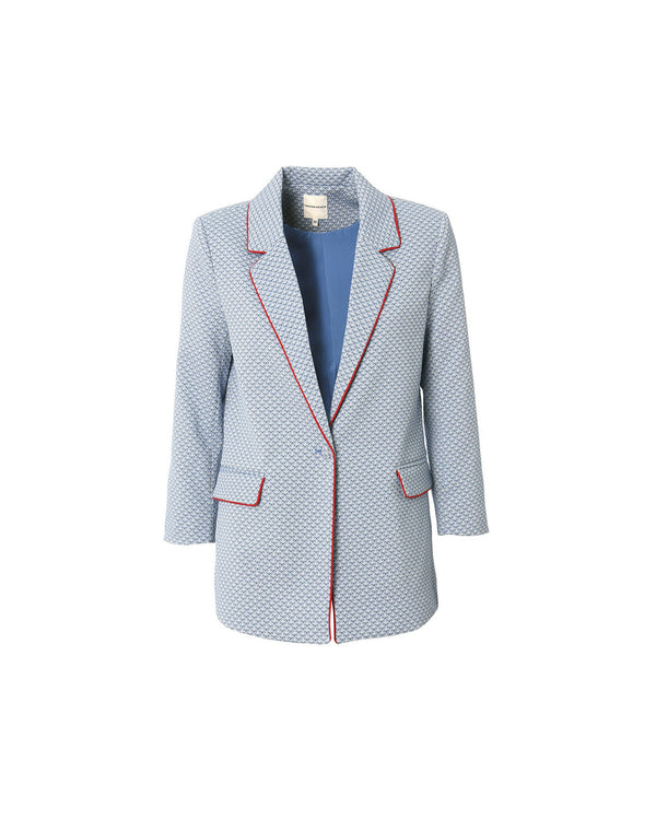 Jacket structured fabric ALEUTIANS