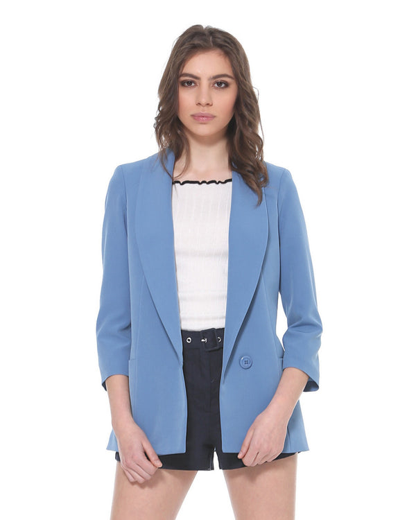 Solid color blazer QUIRUSILLAS