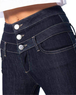 Jeans triple buttons TRIGAL