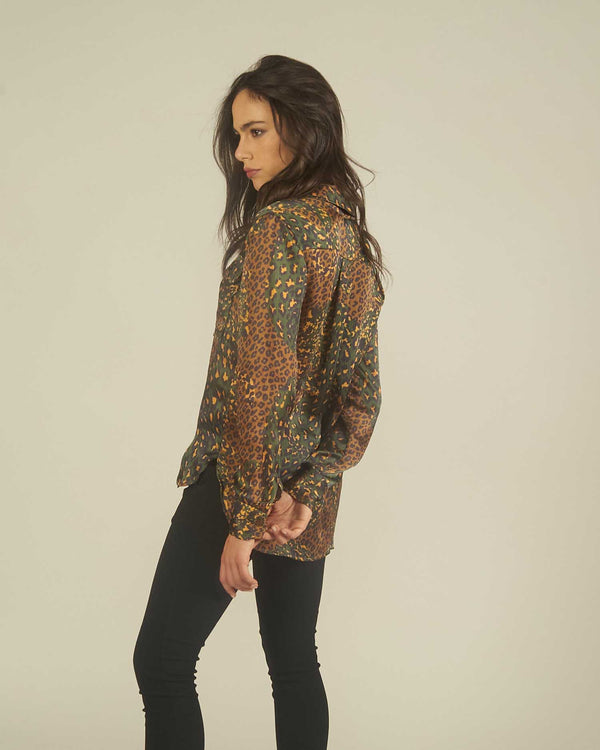 Milatry blouse